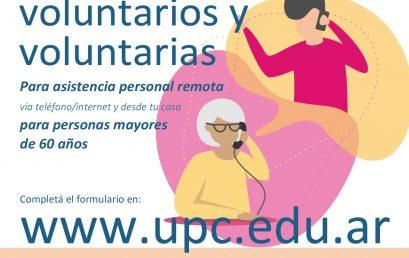 Convocatoria del Programa de Voluntariado Social para acompañar a adultos/as mayores