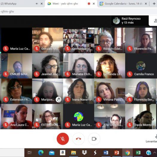 """Encuentro Virtual entre Proyectos Extensionistas 2020: """"Universidad, territorio y compromiso social"""""""