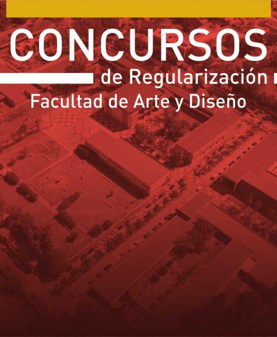 Concursos de regularización docente en la FAD