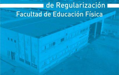 Concursos de regularización docente en la FEF