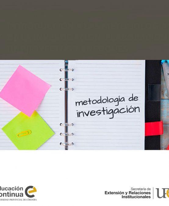 Últimos lugares para el Curso de Introducción a las metodologías de la investigación: elaboración de proyectos y enfoques