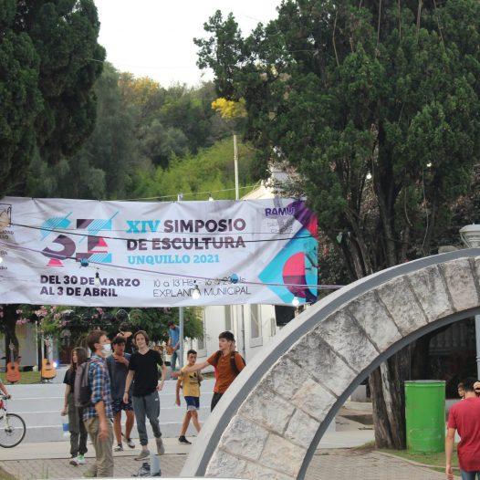 Concluyó el XIV Simposio de Escultura de Unquillo y continuarán las acciones entre la UPC y el municipio