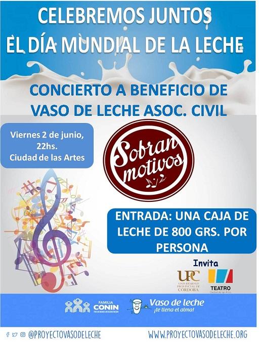 SOBRAN MOTIVOS- DIA MUNDIAL DE LA LECHE 2-06-2