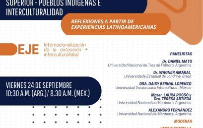 """Webinarios de REDCIUN: """"Pueblos indígenas e Interculturalidad. Experiencias Latinoamericanas"""""""