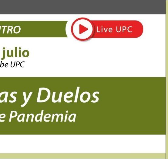 Invitamos al segundo encuentro del panel: Despedidas y duelos en tiempos de Pandemia