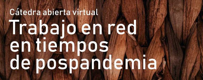 Cátedra abierta virtual, Trabajo en red en tiempos de pospandemia.
