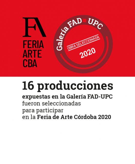 Feria de Arte Córdoba 2020: Invitación a un evento dinámico para visitar on- line