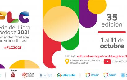 Comienza la Feria del Libro Córdoba 2021, con dos actividades de la UPC