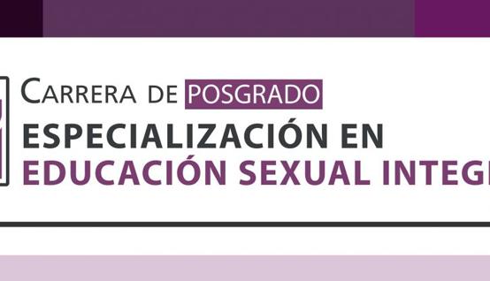 Prórroga para la preinscripción a la carrera de posgrado Especialización en Educación Sexual Integral de la UPC