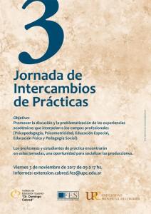 JORNADA DE INTERCAMBIO DE PRÁCTICAS A4 - Extensión Cabred FES UPC
