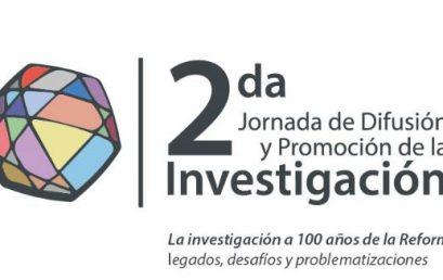 Se acerca la Segunda Jornada de Difusión y Promoción de la Investigación