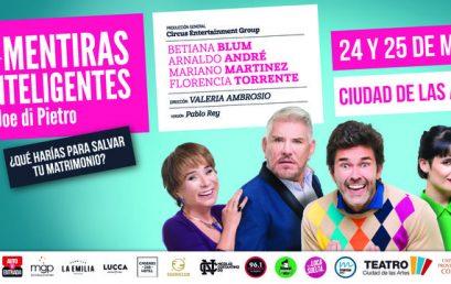 MENTIRAS INTELIGENTES con Betiana Blum, Florencia Torrente, Arnaldo André y Mariano Martínez (TEATRO)