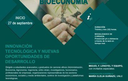 Becas para el Curso de Actualización de Posgradoen Bioeconomía