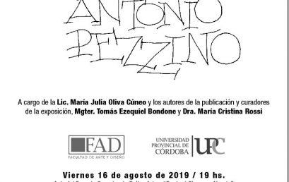 Presentación del libro: Antonio Pezzino