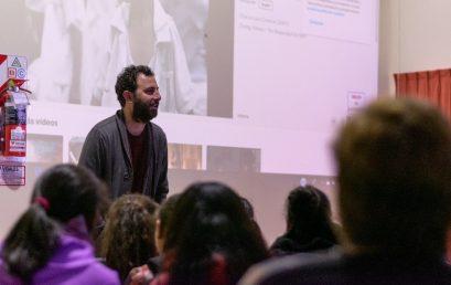 """Avanza el proyecto """"Arte y Sostenibilidad en Bouwer"""" de la UPC"""