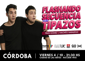 """FLASHANDO SECUENCIA CON TIPAZOS"" (STAND UP)"