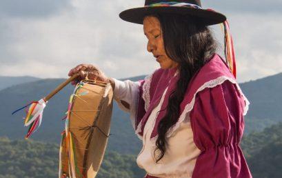 Homenaje a la heroína Aimara Bartolina Sisa Vargas