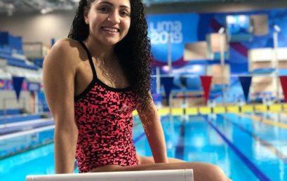 Gran desempeño de Jazmín Aragón, Estudiante/Deportista de la FEF, en los Juegos Parapanamericanos