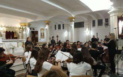 La Orquesta Inicial y Juvenil de la FAD participó de un Ciclo de Conciertos Clásicos