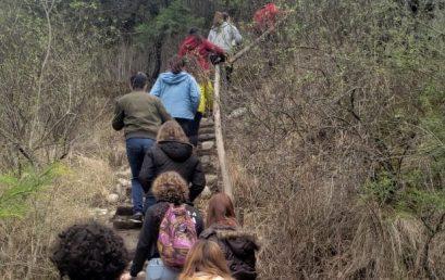 Estudiantes de la FTA participaron de una Caminata en la Reserva San Martin