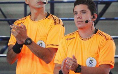 Dos estudiantes de la FEF se desempeñaron como árbitros en el Torneo Sudamericano de Handball