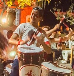 El Taller de Danza y Percusión de la UPC presente en los Carnavales de Miramar de Ansenuza, Malagueño y Córdoba