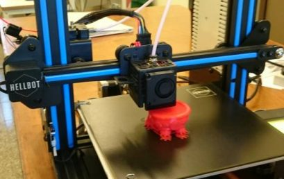 La FAD tiene una nueva impresora 3D