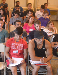 Nuevos aspirantes en la Tecnicatura Universitaria en Actividad Física de la FEF