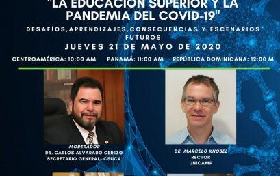 Seminario virtual sobre Educación Superior y la pandemia del COVID-19