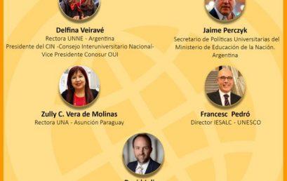 Webinario: Nuevos desafíos y oportunidades para la cooperación en educación superior de las Américas en tiempos de pandemia