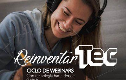 Sumate a ReinvertarTEC el ciclo de talleres digitales dirigidos a mujeres de todas las edades