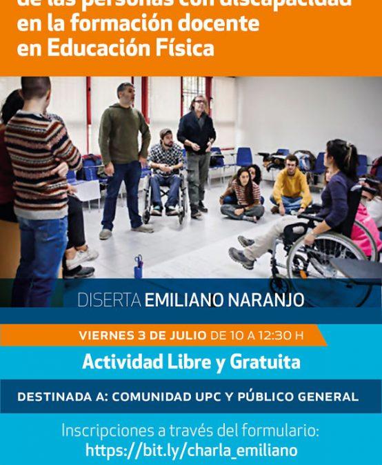 Conversatorio: Los derechos de las personas con discapacidad en la formación docente en Educación Física