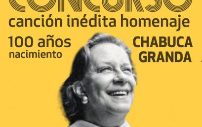 ¡Para compositores!: una canción para homenajear a Chabuca Granda