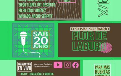 ¡Sumá tu aporte para el Festival solidario Flor de Laburo!