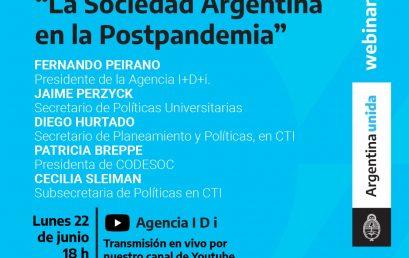 Convocatoria PISAC-COVID-19: La sociedad argentina en la Postpandemia