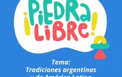 Convocatoria para la segunda edición de ¡Piedra Libre!