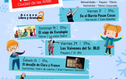 Vacaciones en Ciudad, propuestas teatrales para los más chicos
