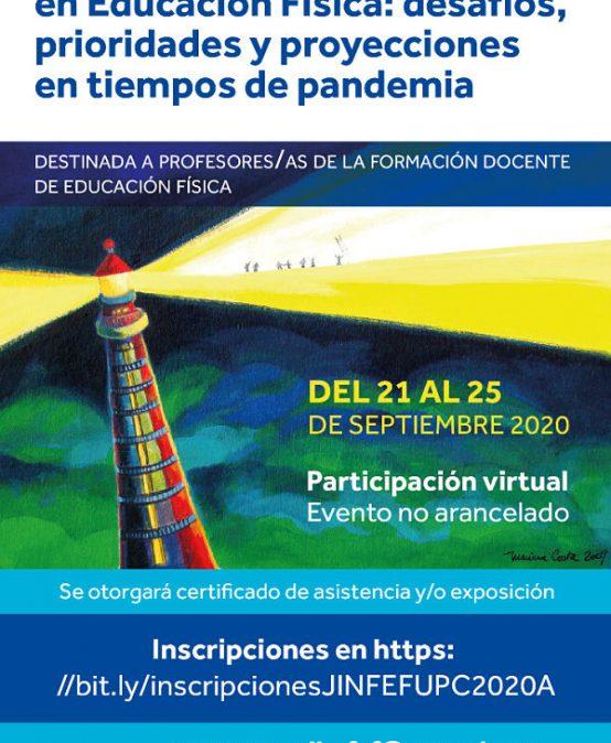 La FEF invita a la Jornada de intercambio nacional sobre formación docente en Educación Física en tiempos de pandemia