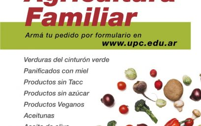 Te acercamos la Feria de Alimentos de la Agricultura Familiar a tu casa