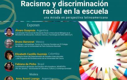 Conversatorio: Racismo y discriminación racial en la escuela (FLACSO)