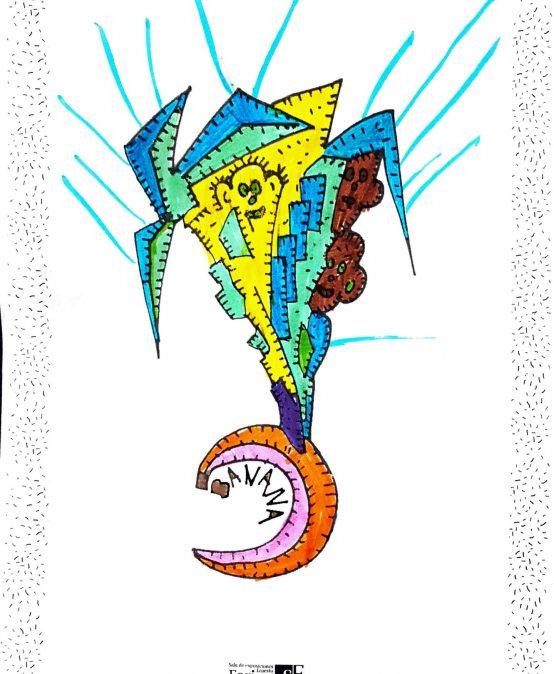 En la cabeza de Juan Longhini: el artista detrás del cuadernillo de dibujos de la UPC