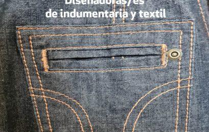 ¡Feliz Día Nacional de las Diseñadoras/es de Indumentaria y textil!