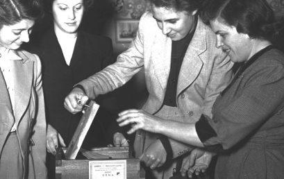Conmemoramos los 73 años de la promulgación del Voto Femenino