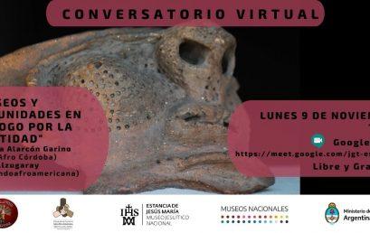 """Participá del conversatorio """"Museos y comunidades en diálogo por la identidad""""."""