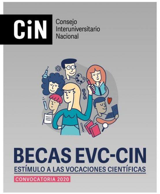 Ya están disponibles los resultados provisorios de admisibilidad para las Becas EVC-CIN 2020