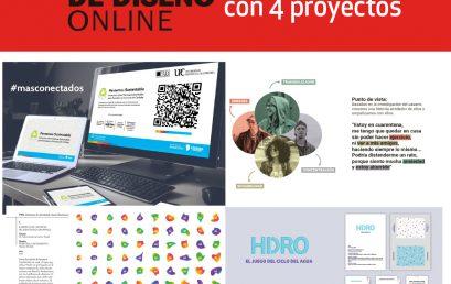 Cuatro proyectos de la Lic. en Diseño participan del Festival de Diseño Online: Desafíos a futuro