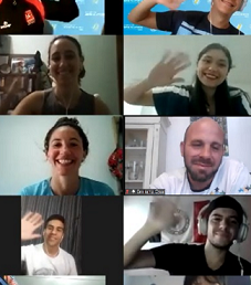 Estudiantes de la UPC en la Academia de Líderes Voluntarios/as de la FeDUA