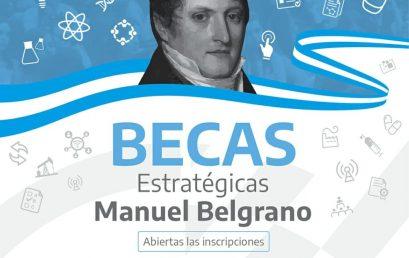 "¡Informate como inscribirte a las Becas ""Manuel Belgrano""!"