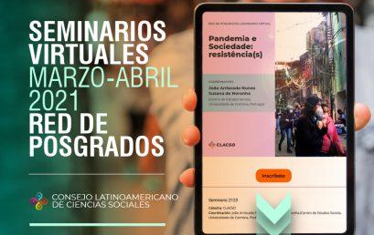 Nuevos seminarios del Consejo Latinoamericano de Ciencias Sociales (CLACSO)