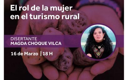 Conversatorio: El rol de la mujer en el turismo rural